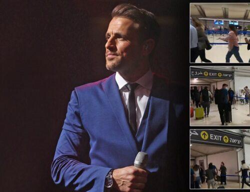 Νίκος Βέρτης: Αναβάλλεται η σημερινή συναυλία στο Τελ Αβίβ – Πέρασε τη νύχτα σε καταφύγιο